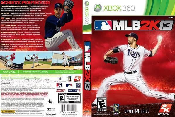 Major League Baseball 2K13 wwwcoversresourcecomcoversMLB2K13FrontCover