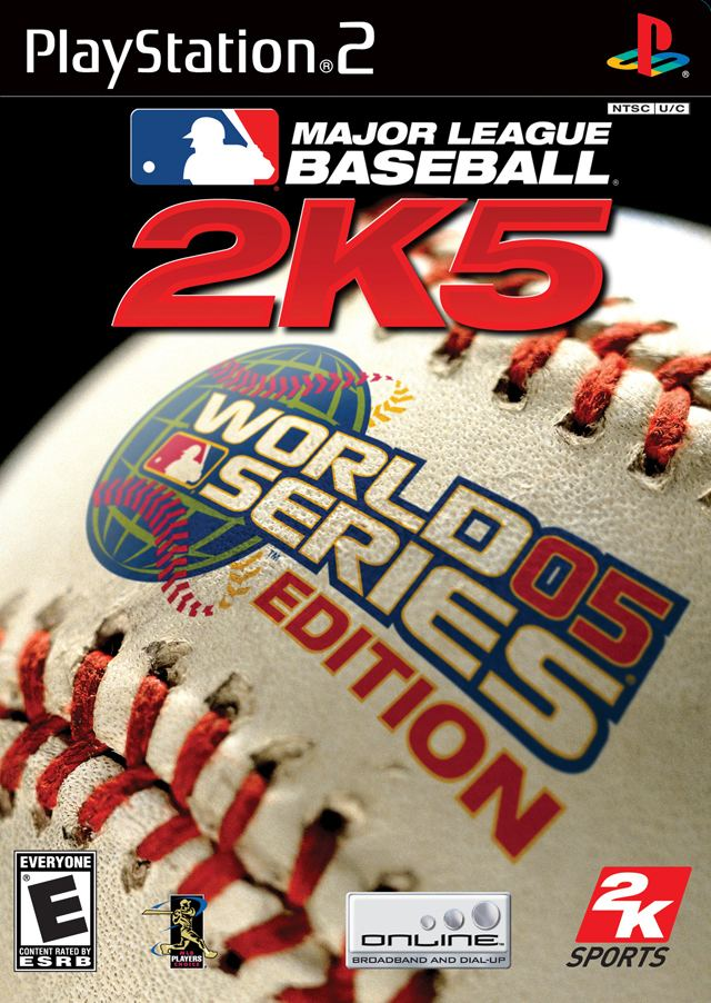 Major League Baseball 2K5 Major League Baseball 2K5 World Series Edition Box Shot for