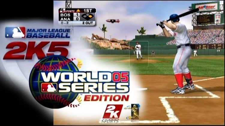 Major League Baseball 2K5 Major League Baseball 2K5 World Series Edition PS2 YouTube