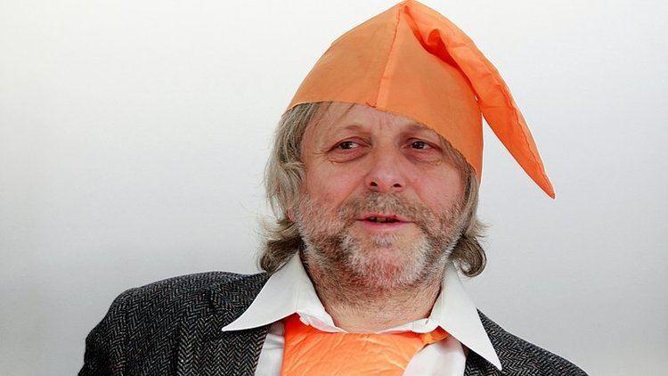 Major Waldemar Fydrych Majorquot Fydrych na wystawie o Pomaraczowej Alternatywie