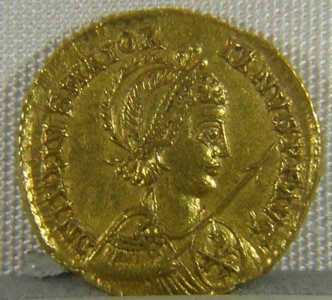Majorian coin depicting Majorian Medievalistsnet