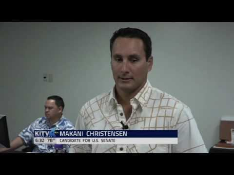 Makani Christensen Makani Christensen runs for Senator of Hawaii YouTube
