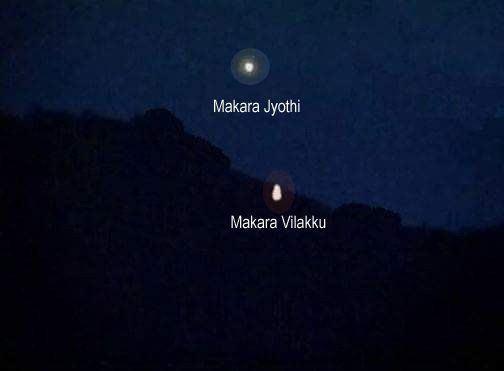 Makara Jyothi Makara jyothi Sabarimala Wiki Secret Date Videos Darshanam