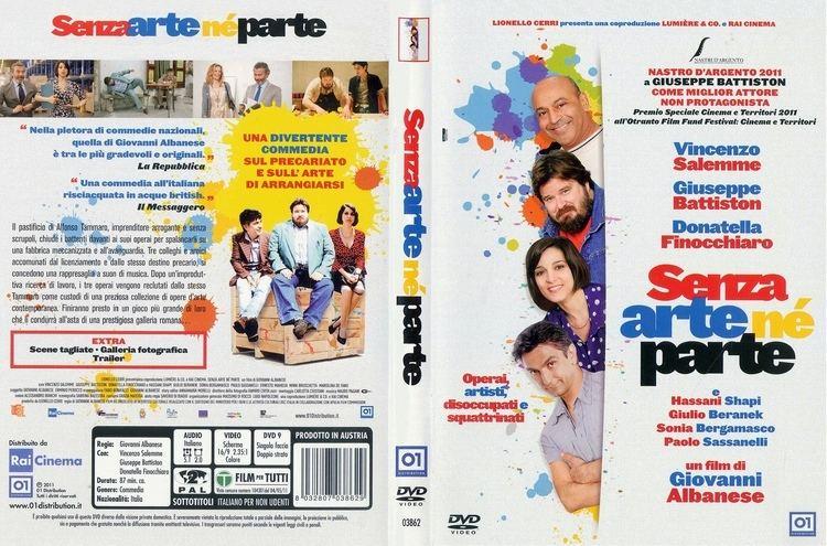 Make a Fake Copertina dvd Senza arte ne parte cover dvd Senza arte ne parte