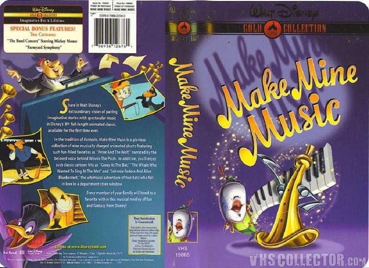 Make Mine Music Make Mine Music VHSCollectorcom Your Analog Videotape Archive