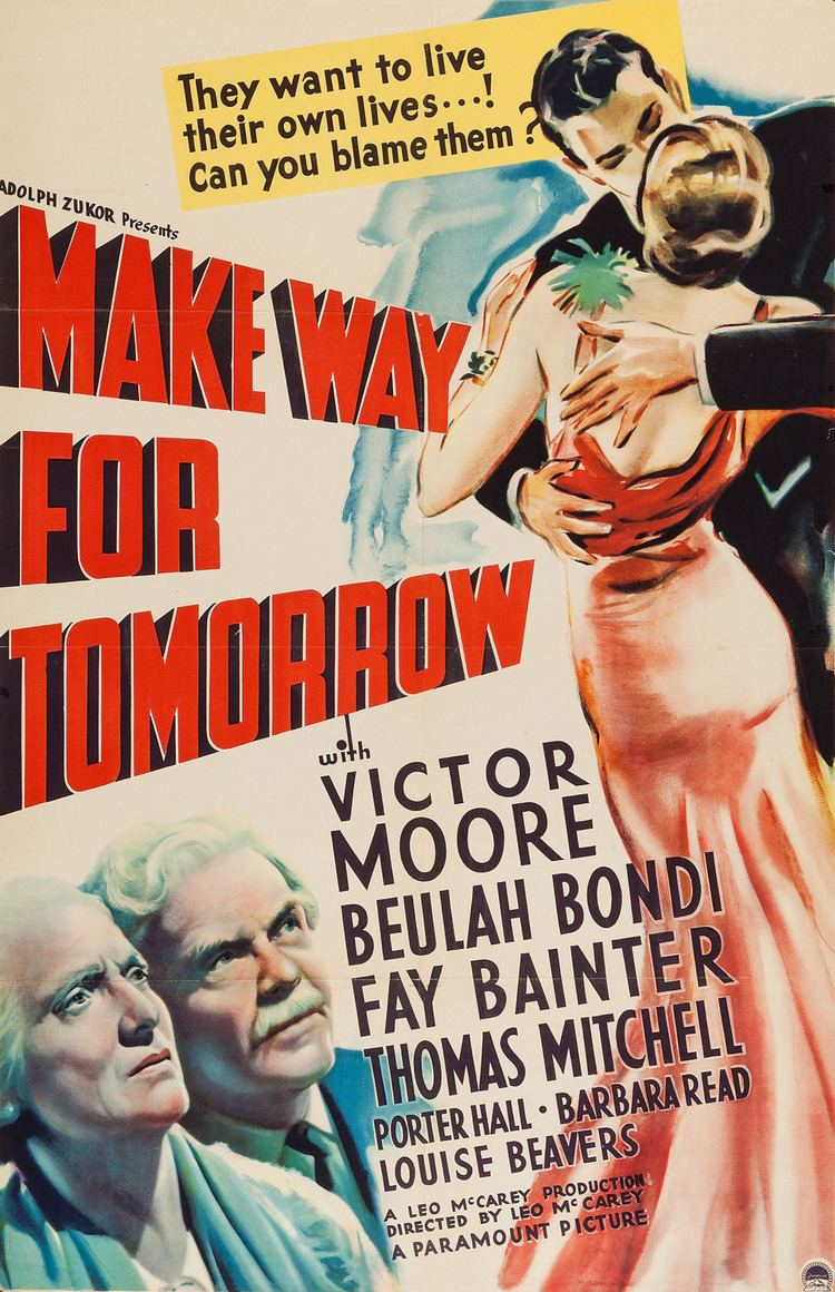 Make Way for Tomorrow Streamline The Official Filmstruck Blog A Man and a Maid Make