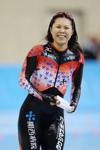 Maki Tsuji Maki Tsuji in Speed Skating Olympic Qualifying Championships Day