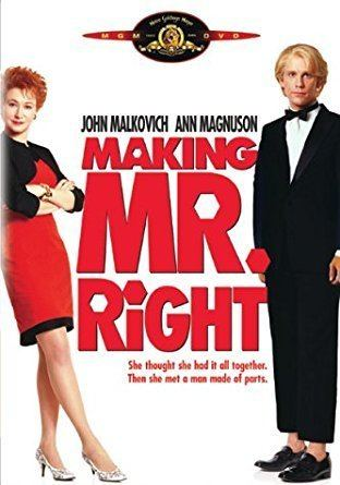Making Mr. Right Amazoncom Making Mr Right John Malkovich Ann Magnuson Glenne