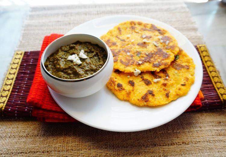 Makki di roti Scrumptious Indian Recipes How to make Makki ki roti Sarso ka saag