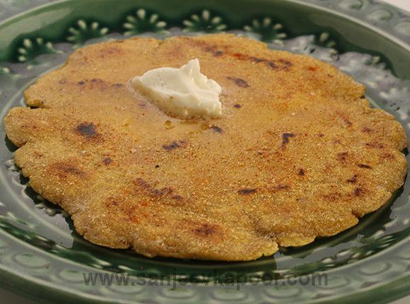 Makki di roti How to make Makki Di Roti recipe by MasterChef Sanjeev Kapoor