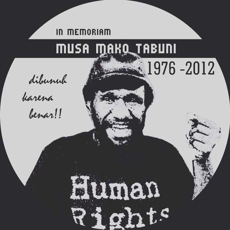 Mako Tabuni Papua Who is responsible for Mako Tabunis death West Papua No