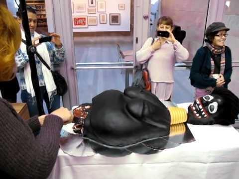 Makode Linde Makode Lindes Cake at World Art Day YouTube