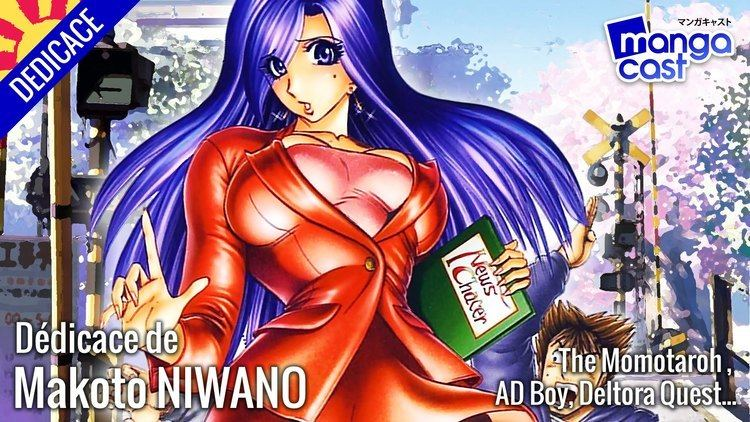 Makoto Niwano Ddicace live du mangaka Makoto NIWANO AD Boy Japan Expo 2015