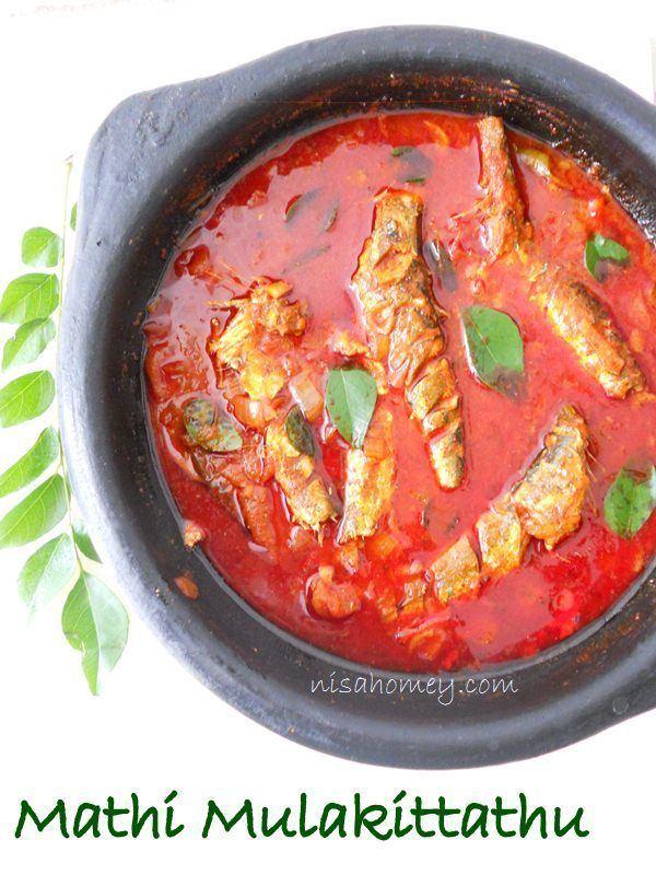 Malabar Matthi Curry Mathi Mulakittathu Malabar Fish Curry Cooking Is Easy