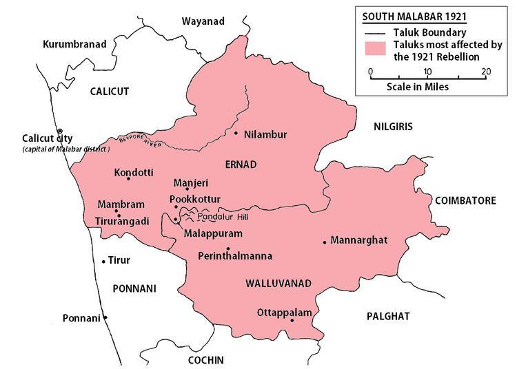 Malabar region Malabar rebellion Wikipedia