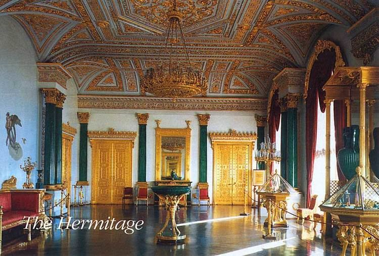 Malachite Room of the Winter Palace photo page