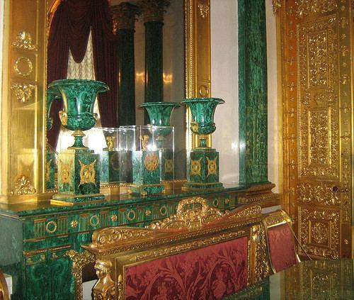 Malachite Room of the Winter Palace violabzwpcontentuploads20120834Thismalac