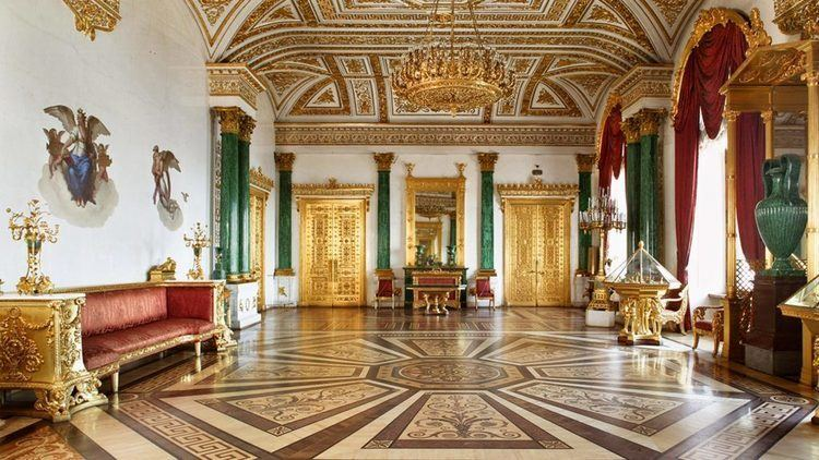 Malachite Room of the Winter Palace The Winter Palace St Petersburg Russia Must See Places