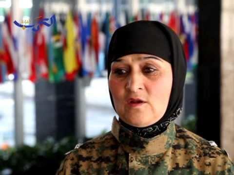 Malalai Bahaduri Afghanistan Interview with Malalai Bahaduri First Sergeant