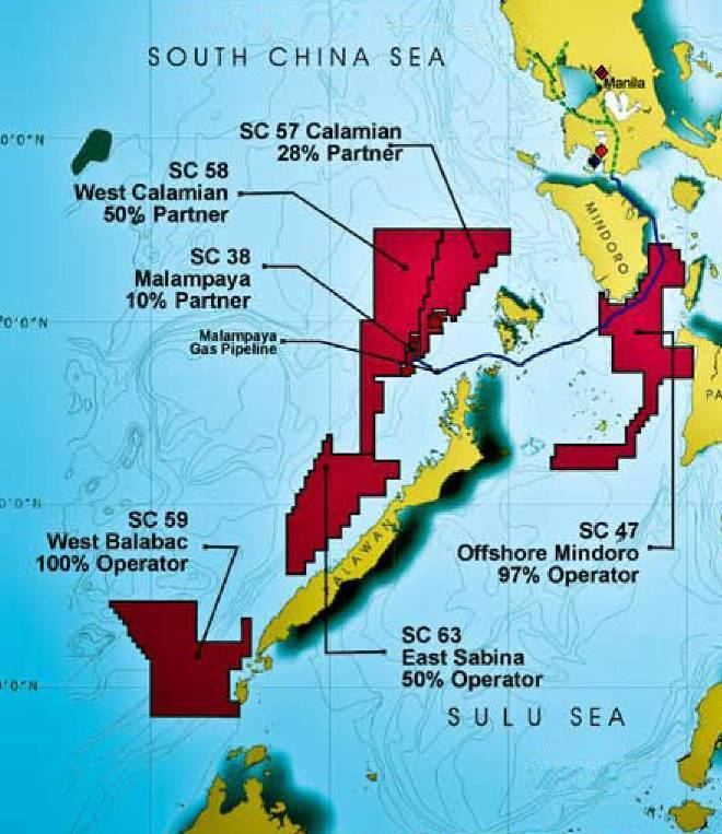 Malampaya gas field PNoy approves P5B to secure Palawan oil and gas fields Money GMA