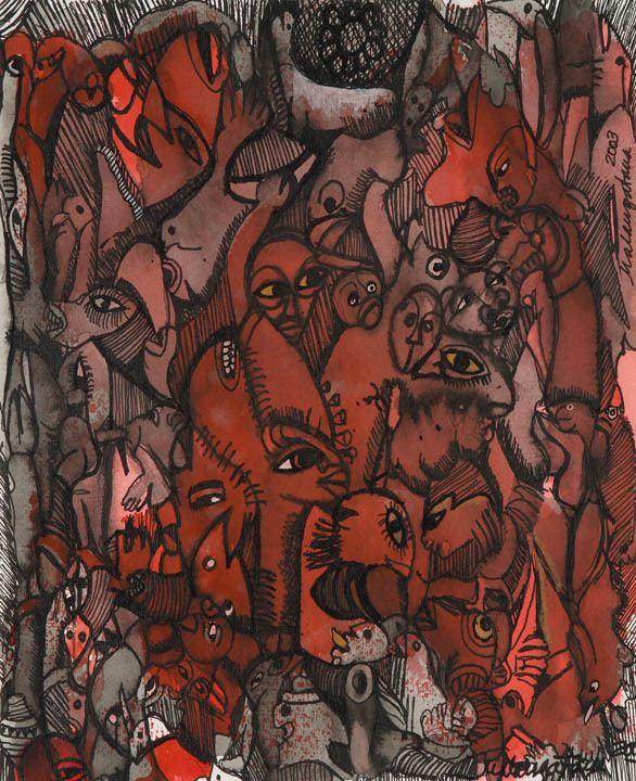 Malangatana Ngwenya Contemporary African Art Gallery Malangatana Ngwenya