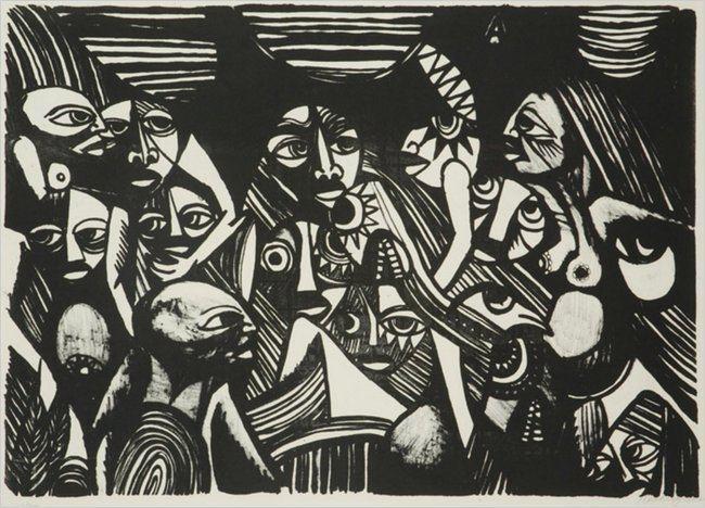 Malangatana Ngwenya Malangatana Ngwenya Mozambican Painter and Poet Dies at