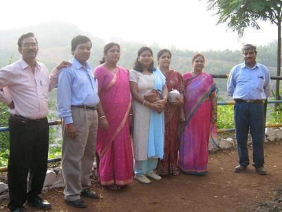 Malanjkhand Mr J P Gupta Chief Manager Mines with senior officers and family