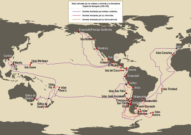Malaspina Expedition uploadwikimediaorgwikipediacommonsthumb885