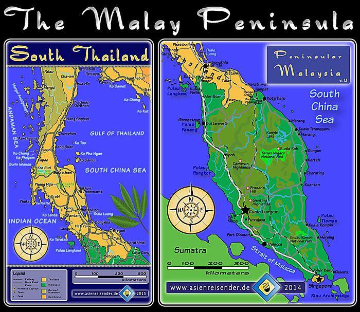 Malay Peninsula Malay Peninsula by Asienreisender