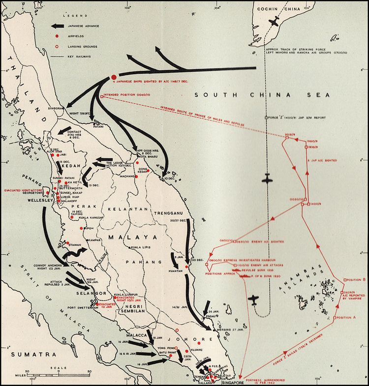 Malayan Campaign HyperWar Royal Air Force 19391945 Volume II The Fight Avails