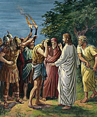 Malchus John 18 Malchus39 Ear Being Healed