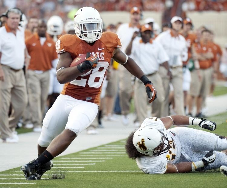 Malcolm Brown (American football) Healthy Malcolm Brown gives Texas twoheaded running back threat