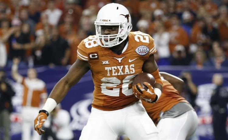 Malcolm Brown (American football) Texas RB Malcolm Brown completes the NFL Scouting Combine