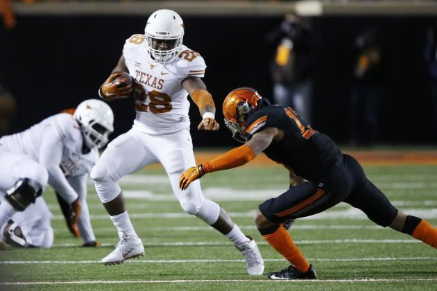 Malcolm Brown (American football) Texas Malcolm Brown Has Chance to Be Next LateRound Running Back