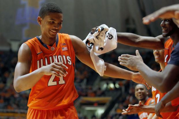 Malcolm Hill (basketball) Does Malcolm Hill deserve a spot in next year39s Illini