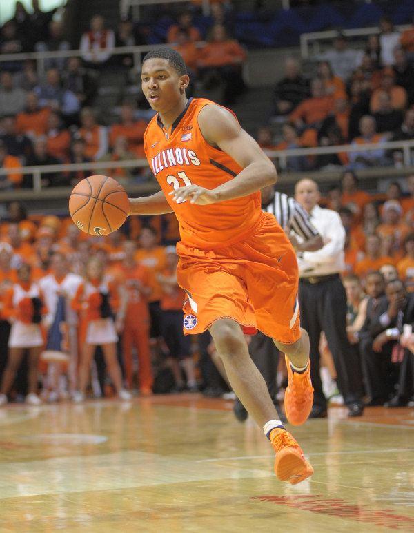 Malcolm Hill (basketball) Big Ten Sophomore Spotlight Illinois39 Malcolm Hill Rush