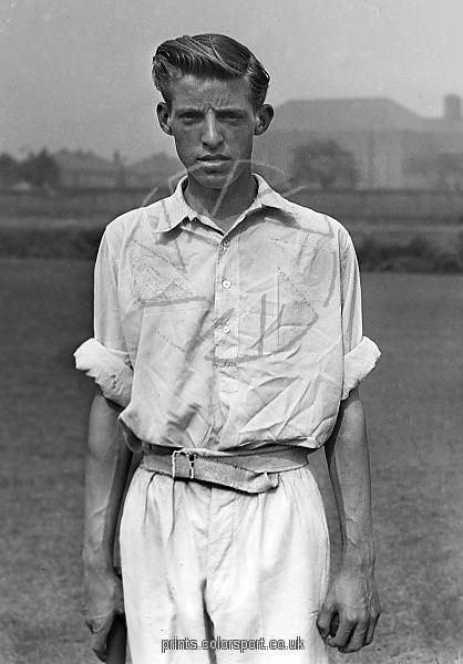 Malcolm Hilton Malcolm Hilton Lancashire CCC Cricket 1947 season