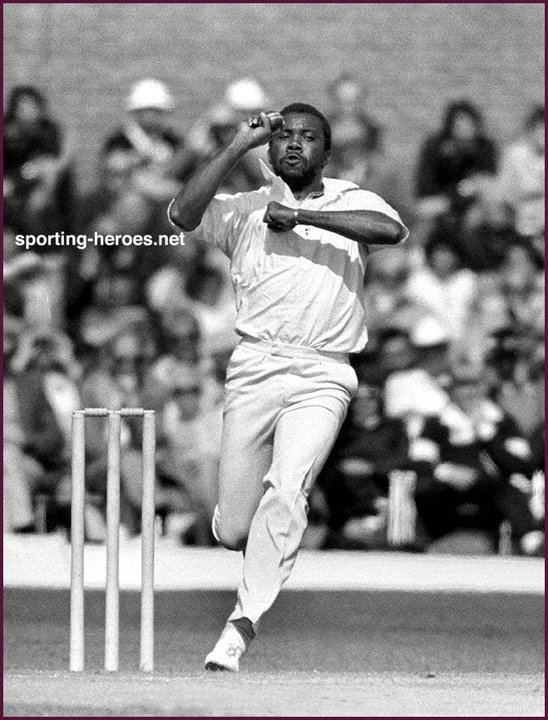 Malcolm MARSHALL Biography of International cricket career West