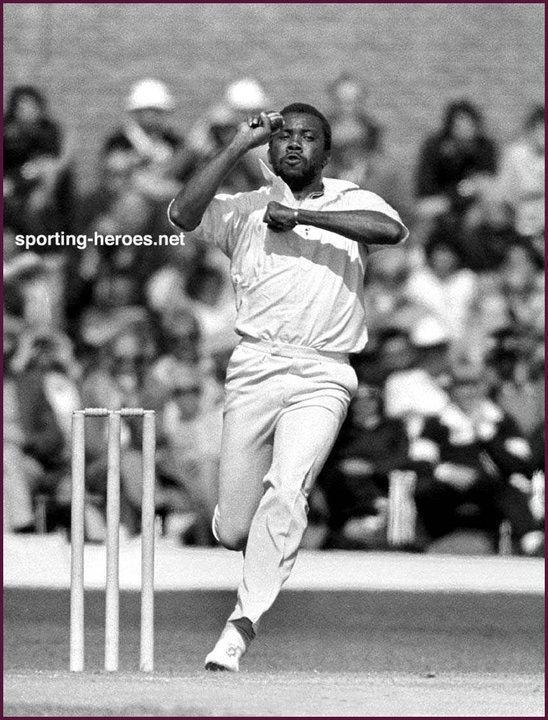 Malcolm MARSHALL Biography of International cricket career West