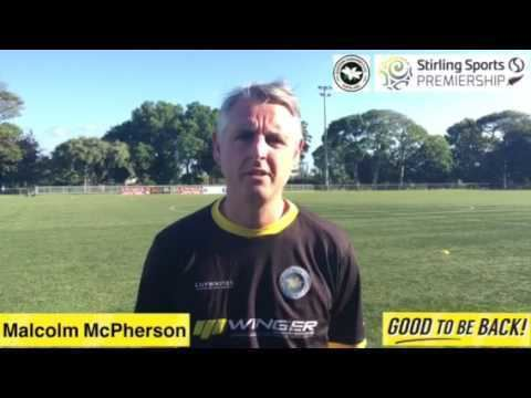 Malcolm McPherson SSP Malcolm McPherson gives his thoughts on Sundays NZ Football