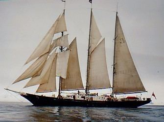 Malcolm Miller Sailing from Scotland to the Faroe Islands STS Malcolm Miller