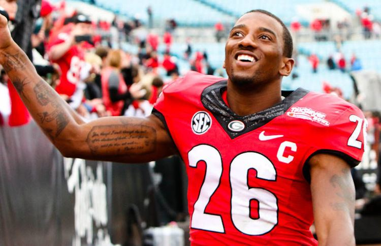 Malcolm Mitchell Malcolm Mitchell appears on Steve Harvey Show Sports redandblackcom