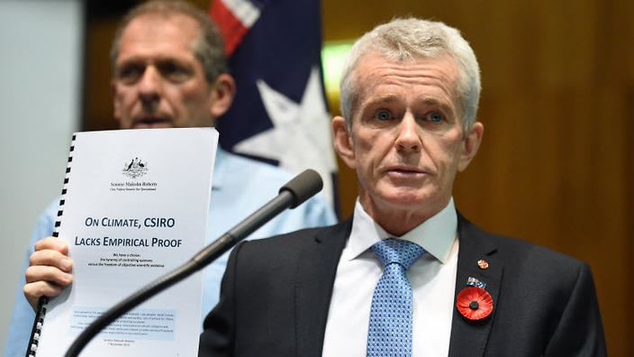 Malcolm Roberts (politician) Malcolm Roberts Demands CSIRO Apologise For Not Fitting Data To His