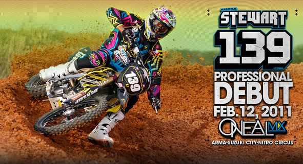 Malcolm Stewart (Supercross) Malcolm Stewart to make Professional Debut in Houston