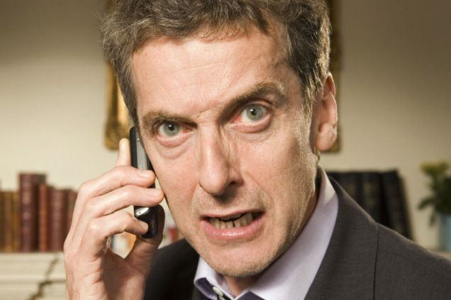 Malcolm Tucker Malcolm Tucker to swear at your phone with The Thick Of It app