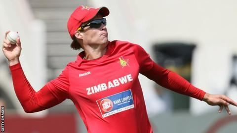 Malcolm Waller Zimbabwe allrounder banned from bowling BBC Sport