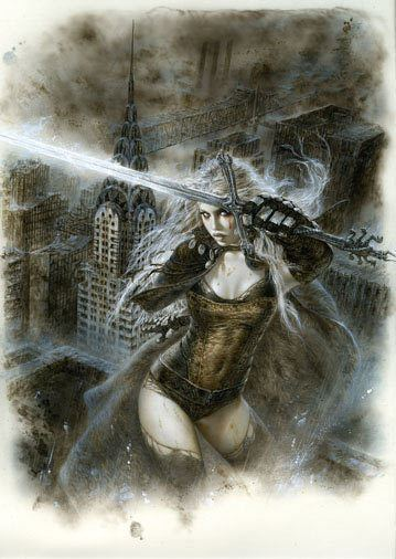 Malefic Time ACOCALYPSE Malefic Time Front Cover Malefic Time Luis Royo