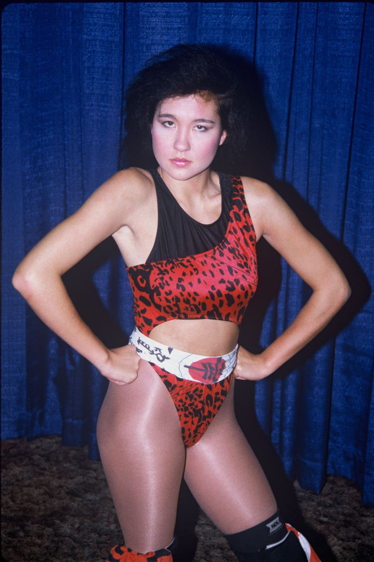 Malia Hosaka Portrait All Women Wrestling
