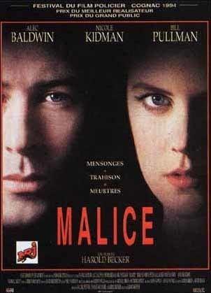 Malice (film) Malice film de Harold Becker