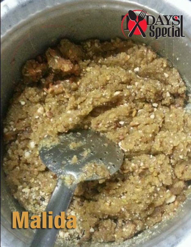 Malida Today39s Special Malida or Malido Authentic Bohra Sweet Dish